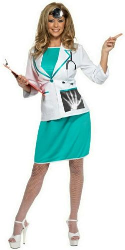 Private Doctor - Sexy Fancy Dress Costume (Smiffys 33832)
